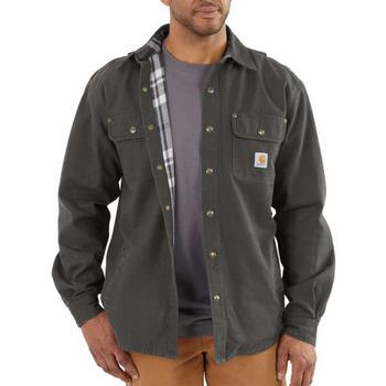 Carhartt Weathered Canvas Long Sleeve Shirt Jac #100590